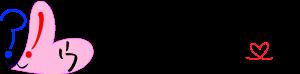 ウサギのハートロゴ